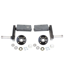 "935 lb. Adjustable Torsion Half Axles with 4-4"" Bolt Circle Hubs"
