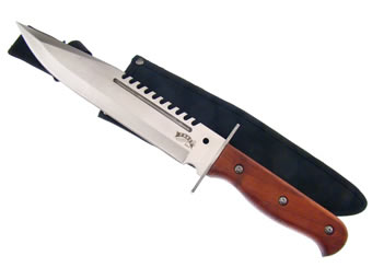 Bowie with Pakawood Handle 18-306PW