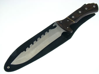 Bowie with Pakawood Handle 18-414PW
