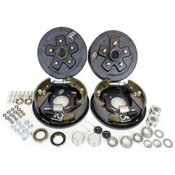 "5-4.75"" Bolt Circle 3,500 lbs. Trailer Axle Hydraulic Brake Kit"