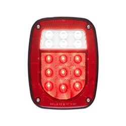 FLEET Count LED Red Combination Tail light 15 Diodes Passenger side