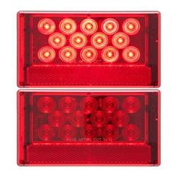 LED Combination Passenger Side Tail Light 18 Diodes
