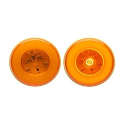 "GloLight™ 2.5"" Round Sealed Amber LED Marker/Clearance Light"