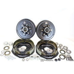 "6-5.5"" Bolt Circle 5,200 lbs. Trailer Axle Electric Brake Kit With Timken Bearings"