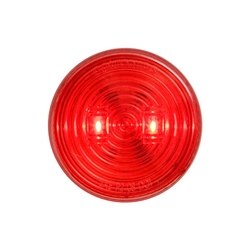 "2.5"" Red Marker/Clearance Light w/Weathertight Connection"