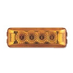 Amber Miro-Flex™ Thin Line Sealed LED Marker/Clearance Light