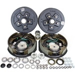 "5-4.5"" Bolt Circle 3,500 lbs. Trailer Axle Self-Adjusting Electric Brake Kit"