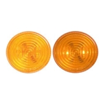 "FLEET Count™ 2.5"" Round Sealed Amber LED Marker/Clearance Light"
