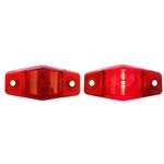 Mini Sealed Red LED Horizontal-Vertical Marker/Clearance Light