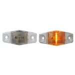 Clear Lens Mini Sealed Amber LED Horizontal-Vertical Marker/Clearance Light