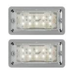 LED Low Profile Dome Light Pair Surface Mount
