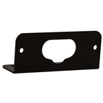 Black Mounting Bracket For 3.375 Inch Thin Mount Horizontal Strobe 8892325