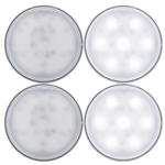 "Opti-Brite ™  4"" Dome Light Pair"